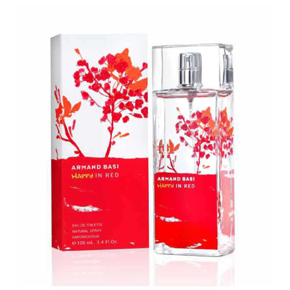 Picture of Armand Basi In Red For Women - Eau de Toilette