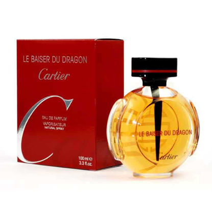 Picture of Le Baiser Du Dragon by Cartier for Women - Eau de Parfum, 100 ml